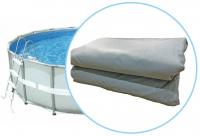 Чаша для круглого каркасного бассейна Steel Pro Max Liner 457x122cm BestWay P05466