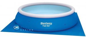 Подстилка Bestway 58002 под бассейны 396х396 см
