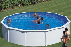 Каркасный бассейн GRE PR558MAG круглый 550x132 см