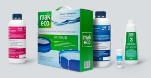 MAK ECO 3 комплект препаратов без хлора для дезинфекции